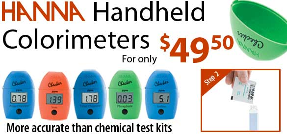 Hanna Checkers For Ammonia And Nitrate
