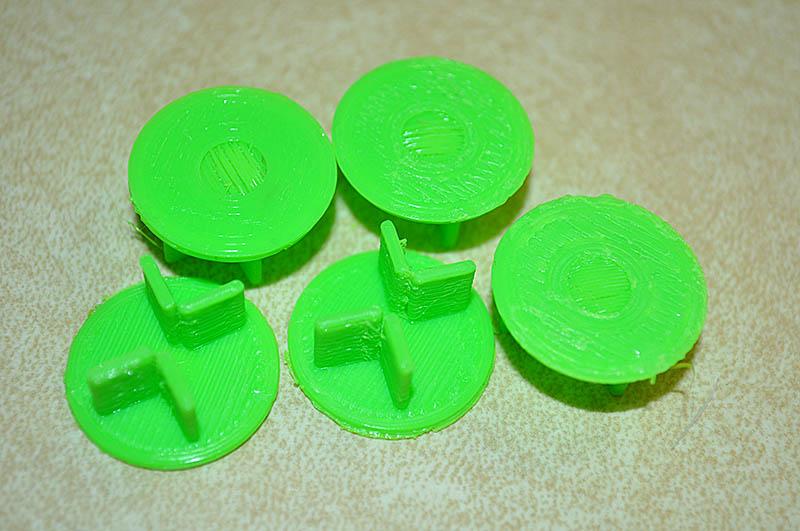 Graber's Gen 2 3D-printed Frag Plug design.