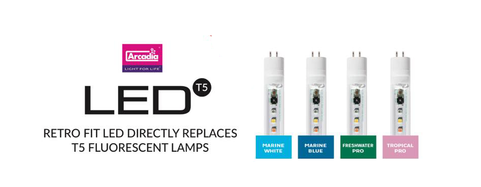 Arcadia Led T5 Retrofit Lamps Reef Builders The And