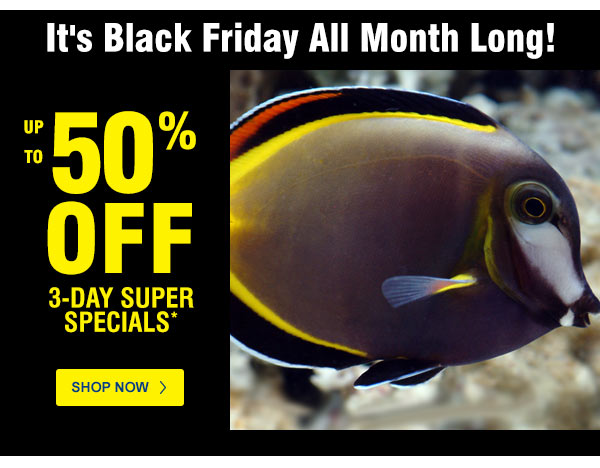 Black Friday Deals Are Waiting For You And You Don T Have To Look Far Reef Builders The Reef And Saltwater Aquarium Blog