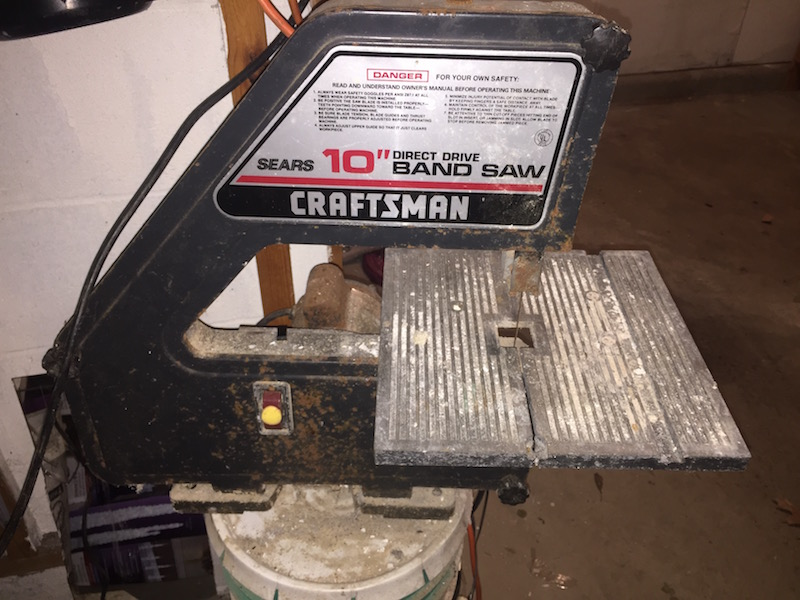 My old bandsaw, still being used after all of these years