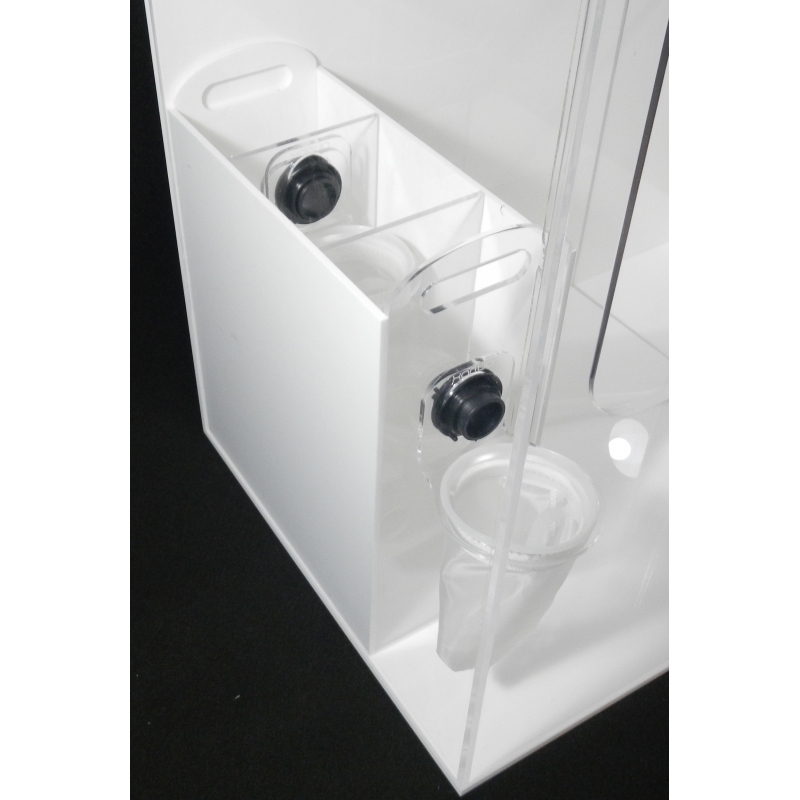 The dual-stage drop-in filter box from XAqua that can go right inside the Naked AIO Stand