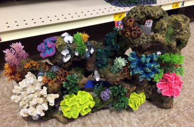 Marine Aquarium Decorations: Tacky, Tasteful, or Somewhere ...