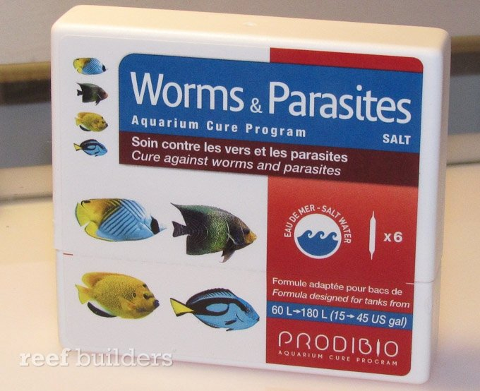 Prodibio aquarium cure program treats spots velvet for Fish internal parasite treatment