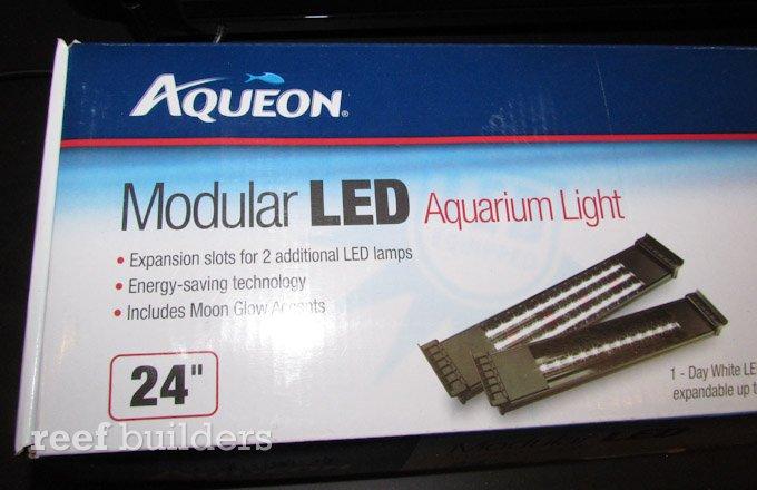 aqueon modular led aquarium light