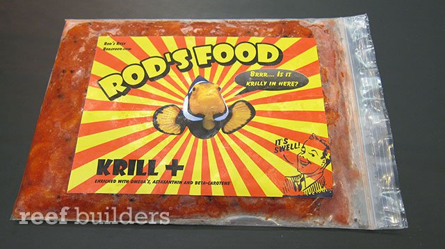 New krill from rod s food is perfect for larger fish for Rods fish food