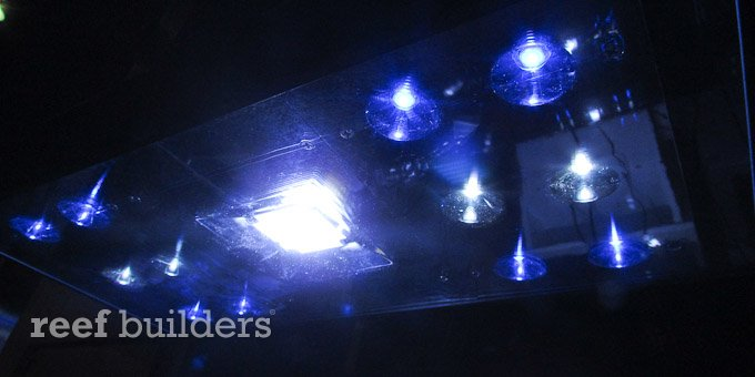 multi chip LED aquarium light