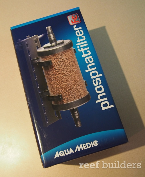 phosphate media reactor