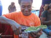 PNG SEASMART coral mariculture program 4