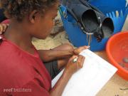 PNG SEASMART coral mariculture program 6