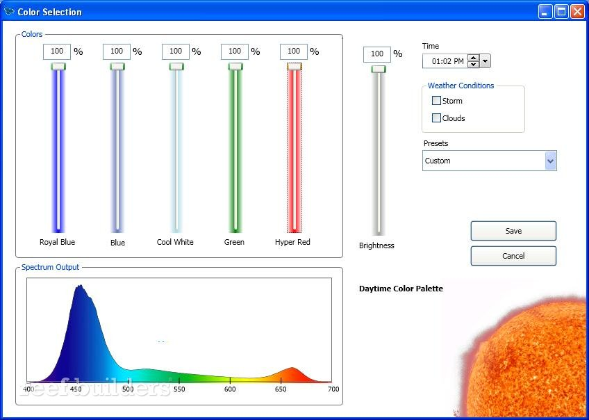 ecotech radion led software
