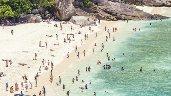 Koh Tachai Island closed indefinetly